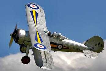 G-AMRK - The Shuttleworth Collection Gloster Gladiator