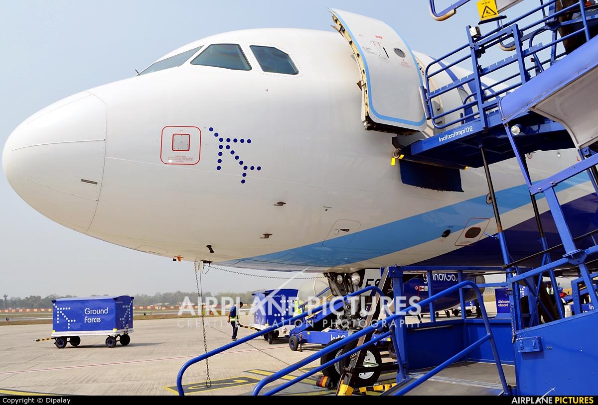 IndiGo VT-IFS aircraft at Agartala