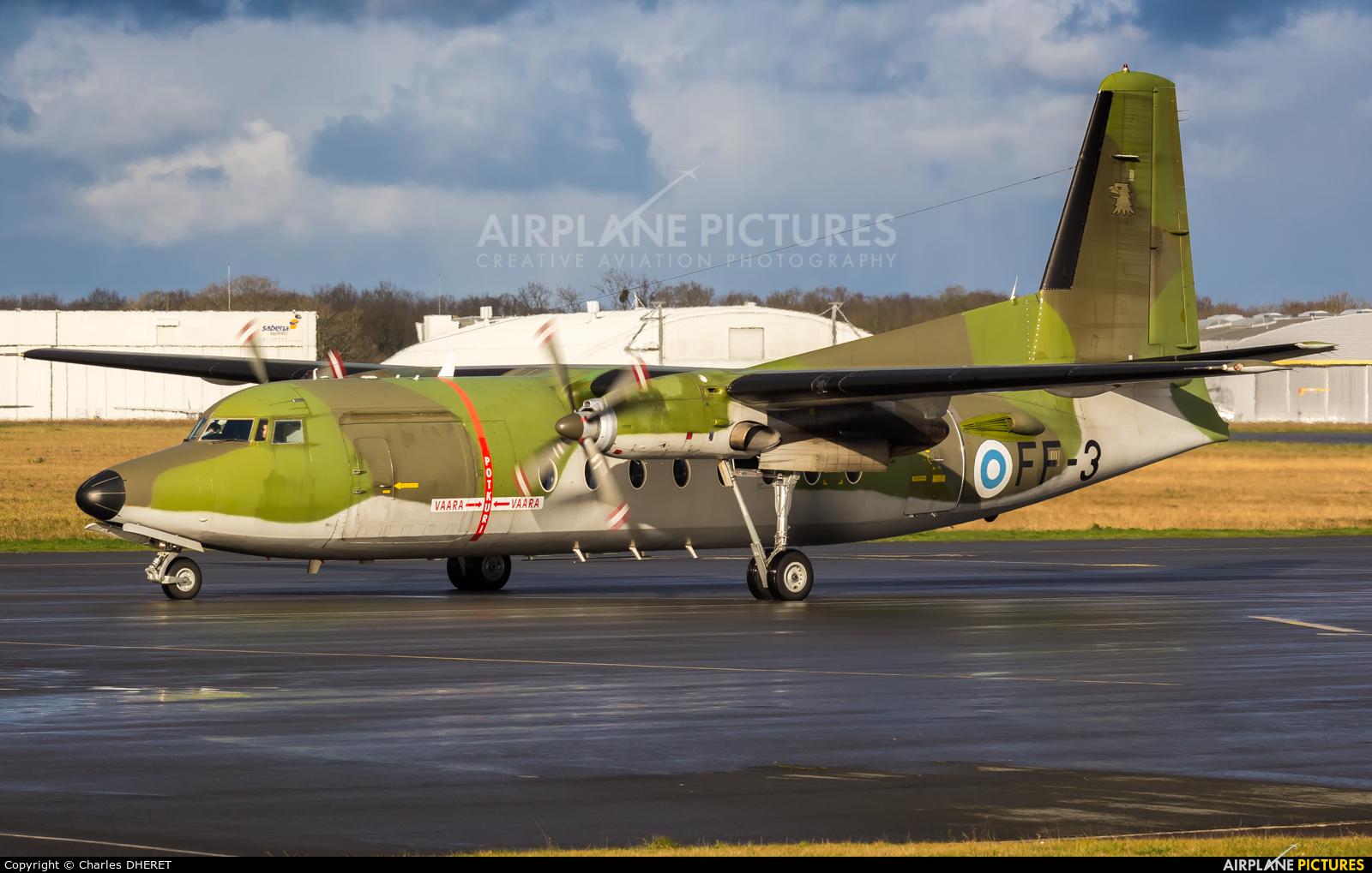 Finland - Air Force FF-3 aircraft at Dinard