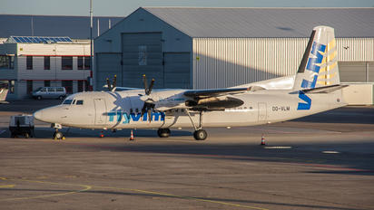 OO-VLM - Vizion Air Fokker 50