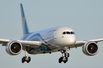 A4O-SB - Oman Air Boeing 787-8 Dreamliner