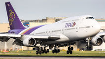 HS-TGZ - Thai Airways Boeing 747-400 aircraft