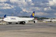 - - Lufthansa Boeing 747-8 aircraft