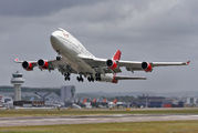G-VROS - Virgin Atlantic Boeing 747-400 aircraft