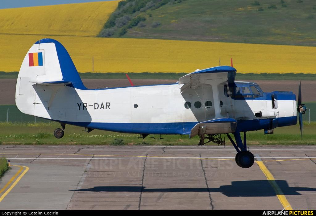 Private YR-DAR aircraft at Tulcea - Delta Dunării