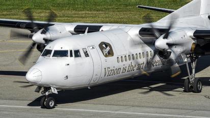 OO-VLP - VLM Airlines Fokker 50