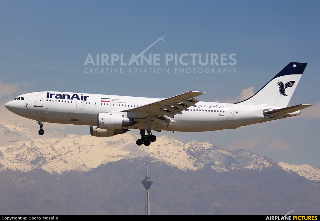 Iran Air EP-IBS aircraft at Tehran - Mehrabad Intl