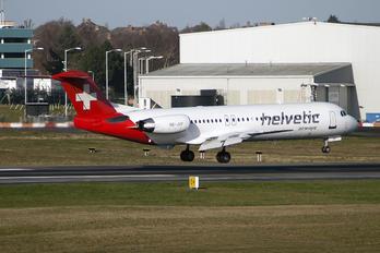 HB-JVF - Helvetic Airways Fokker 100