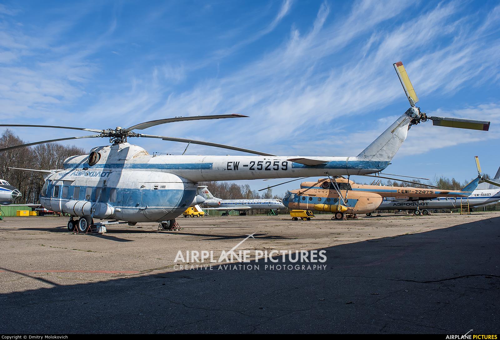 Aeroflot EW-25259 aircraft at Undisclosed Location