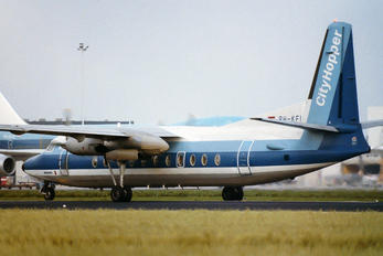 PH-KFI - KLM Cityhopper Fokker F27-500
