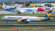 G-TCDY - Thomas Cook Airbus A321 aircraft
