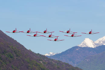 - - Switzerland - Air Force: PC-7 Team Pilatus PC-7 I & II
