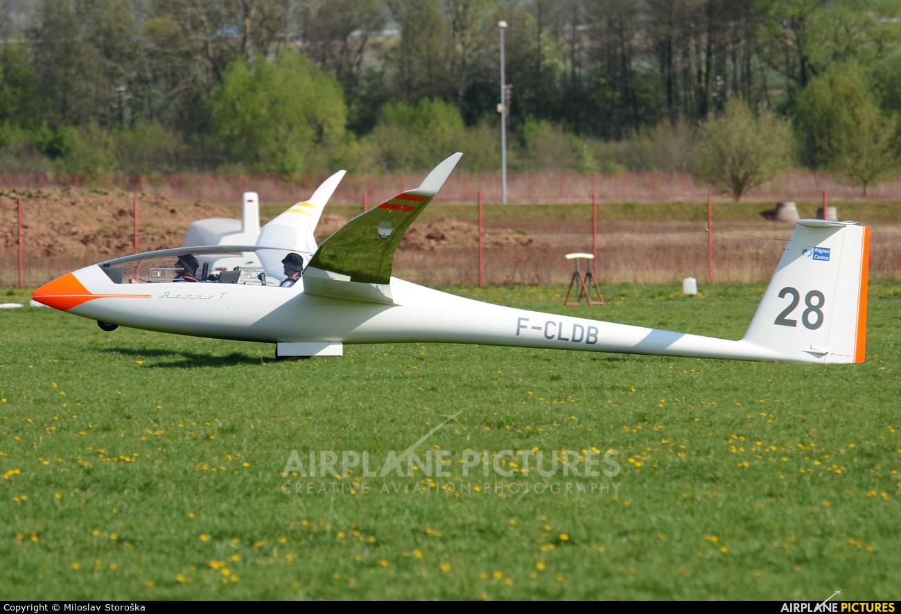 Private F-CLDB aircraft at Prievidza
