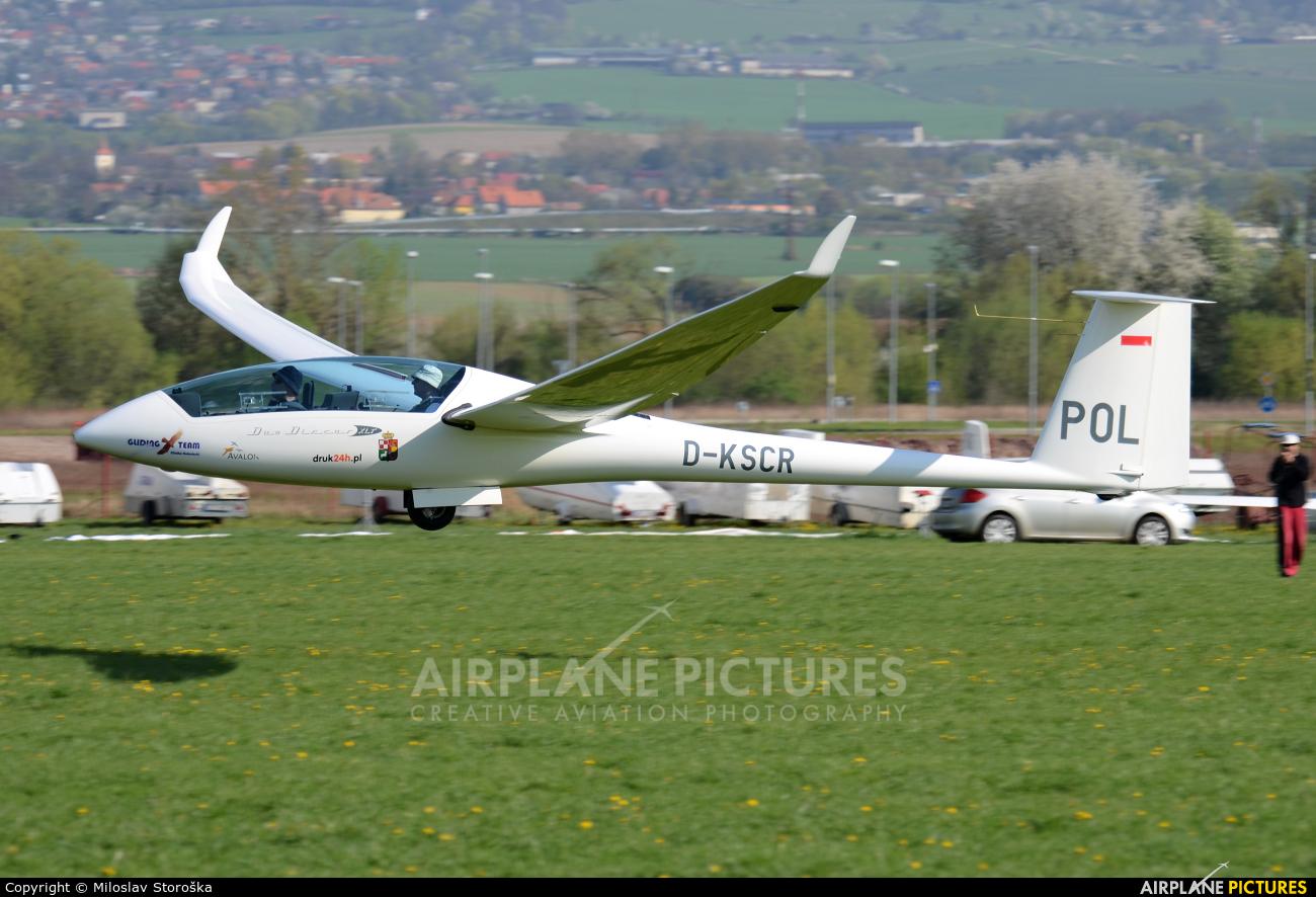 Private D-KSCR aircraft at Prievidza