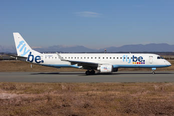 G-FBEF - Flybe Embraer ERJ-195 (190-200)
