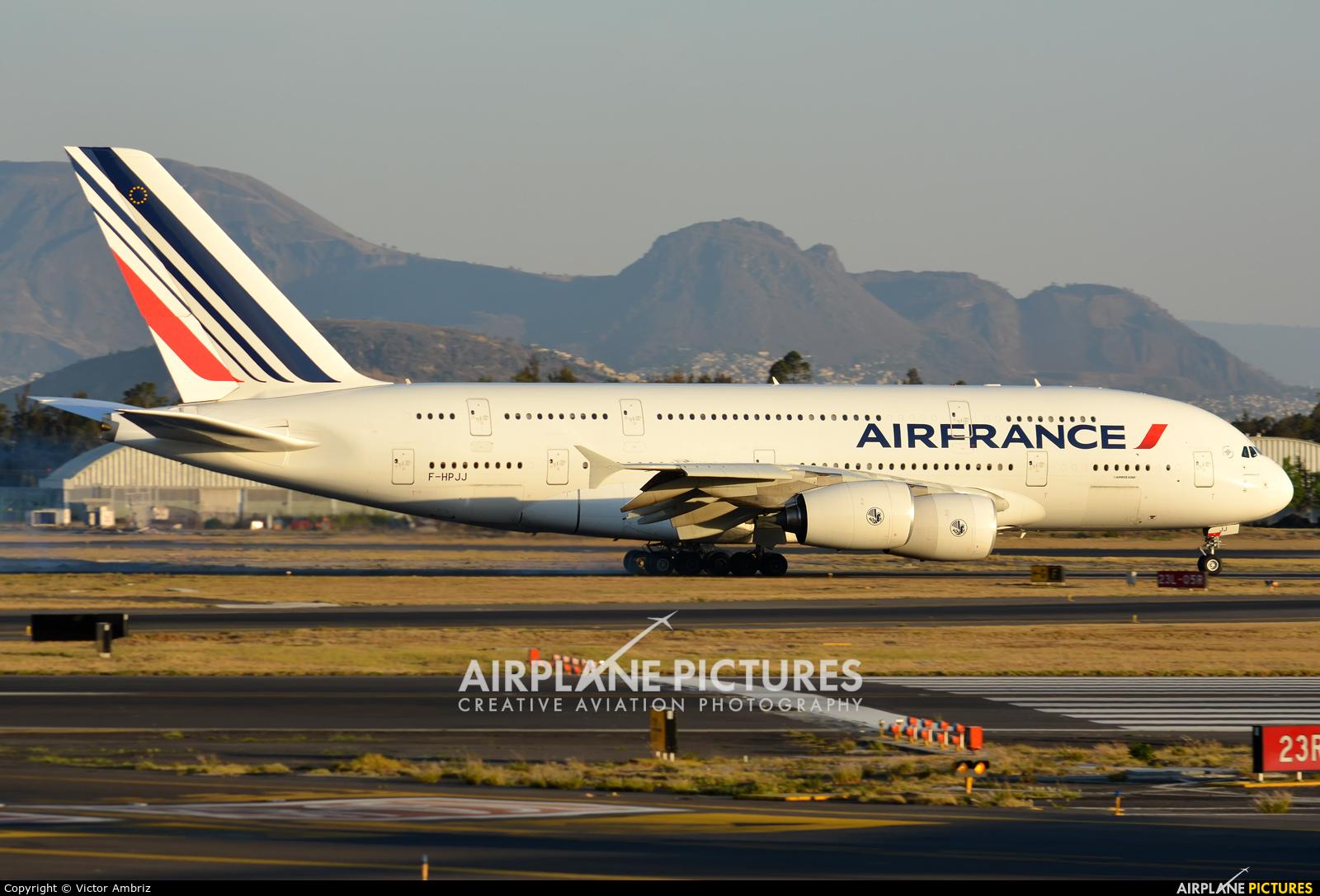 Air France F-HPJJ aircraft at Mexico City - Licenciado Benito Juarez Intl