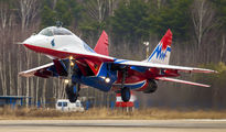 "02 - Russia - Air Force ""Strizhi"" Mikoyan-Gurevich MiG-29 aircraft"
