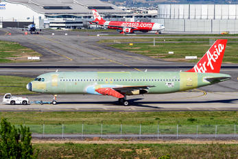 F-WWDJ - AirAsia (Malaysia) Airbus A320