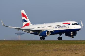 G-EUYY - British Airways Airbus A320