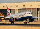 G-EUUG - British Airways Airbus A320 aircraft