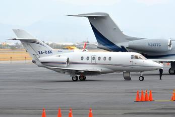 XA-DAK - Private Hawker Beechcraft 850XP