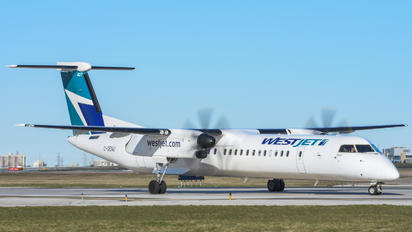C-GENU - WestJet Encore de Havilland Canada DHC-8-400Q / Bombardier Q400