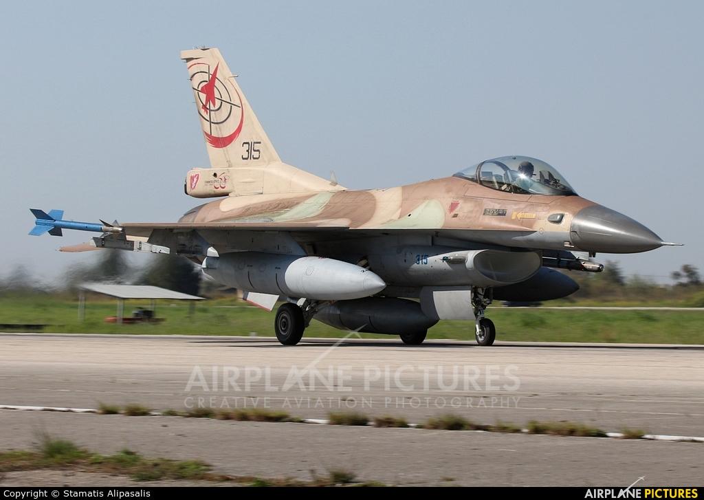 Israel - Defence Force 315 aircraft at Andravida AB