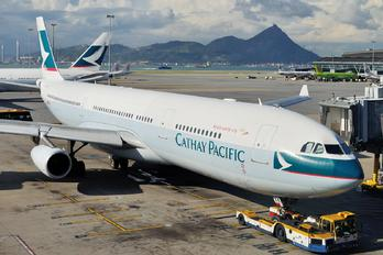 B-HXK - Cathay Pacific Airbus A340-300