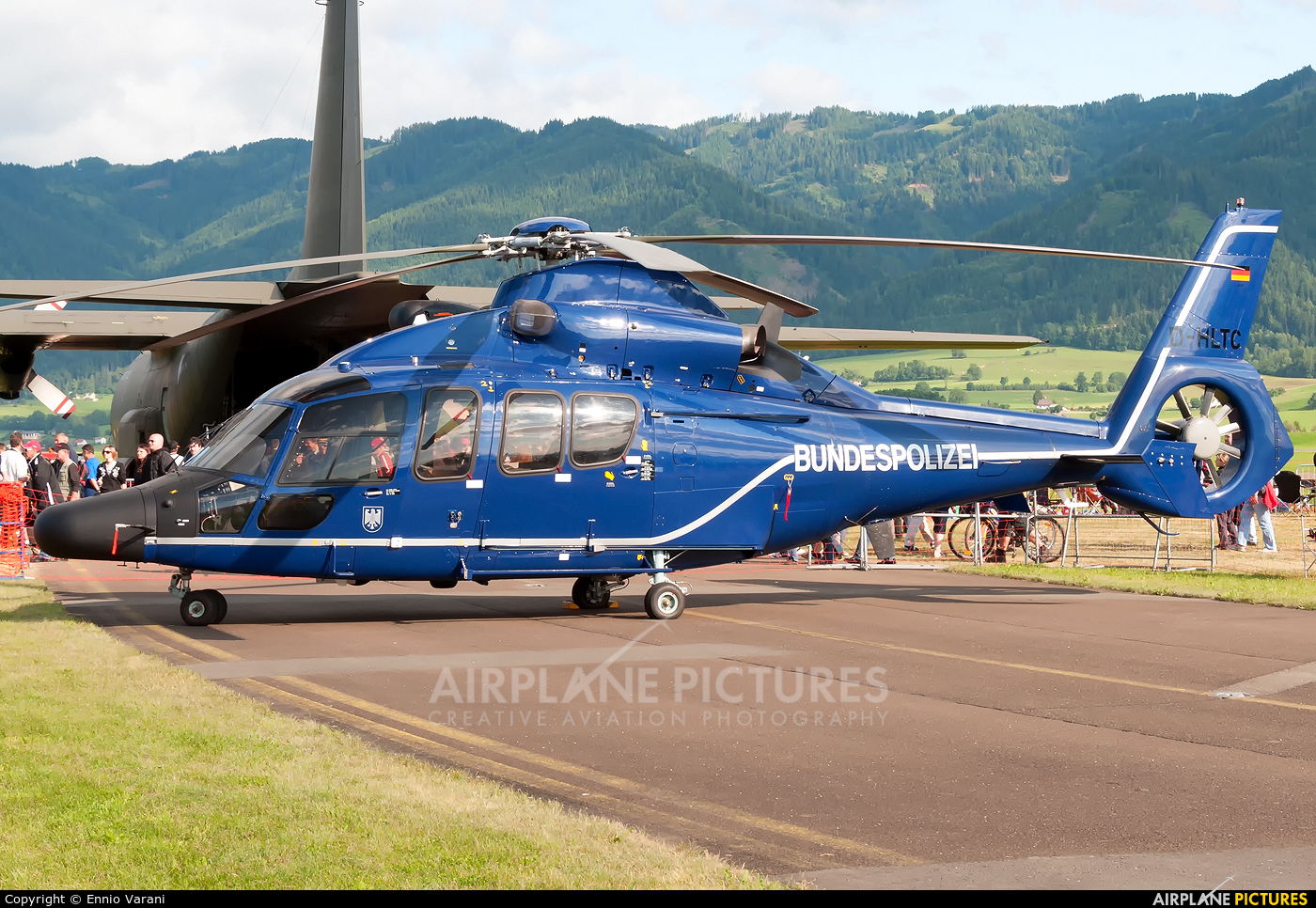 Germany -  Bundespolizei D-HLTC aircraft at Zeltweg