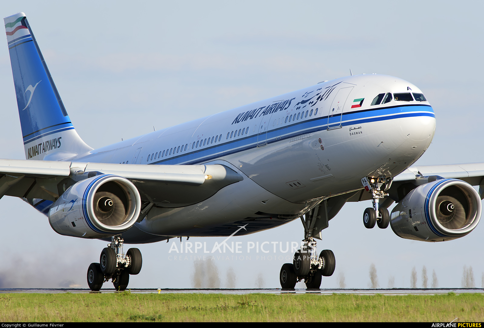 Kuwait Airways 9K-APB aircraft at Paris - Charles de Gaulle