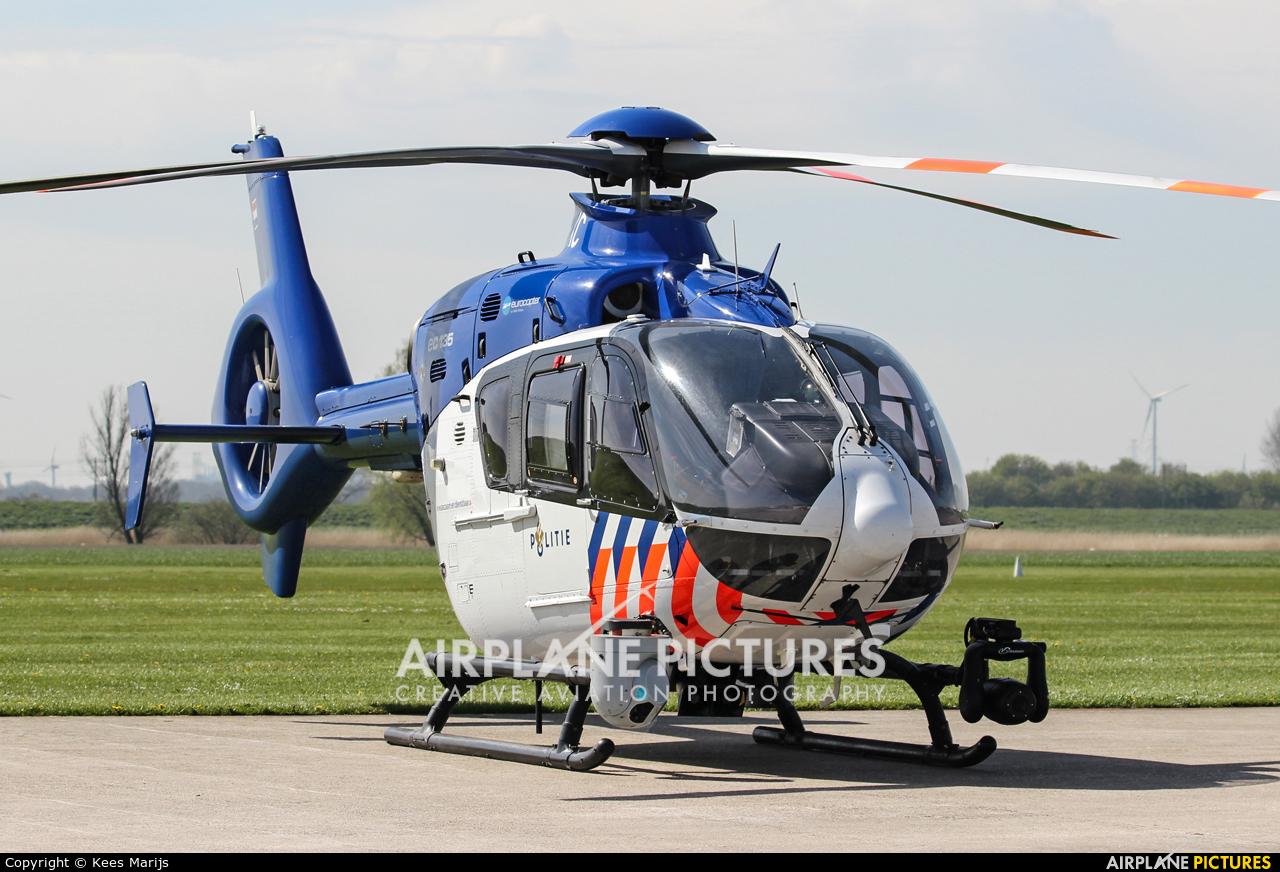 Netherlands - Police PH-PXC aircraft at Middelburg - Midden Zeeland