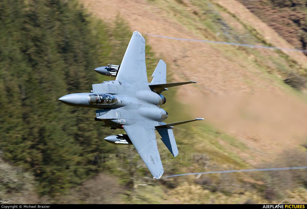 USA - Air Force 91-0326 aircraft at Machynlleth Loop - LFA 7