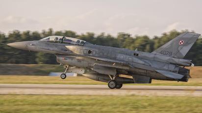 4079 - Poland - Air Force Lockheed Martin F-16D Jastrząb