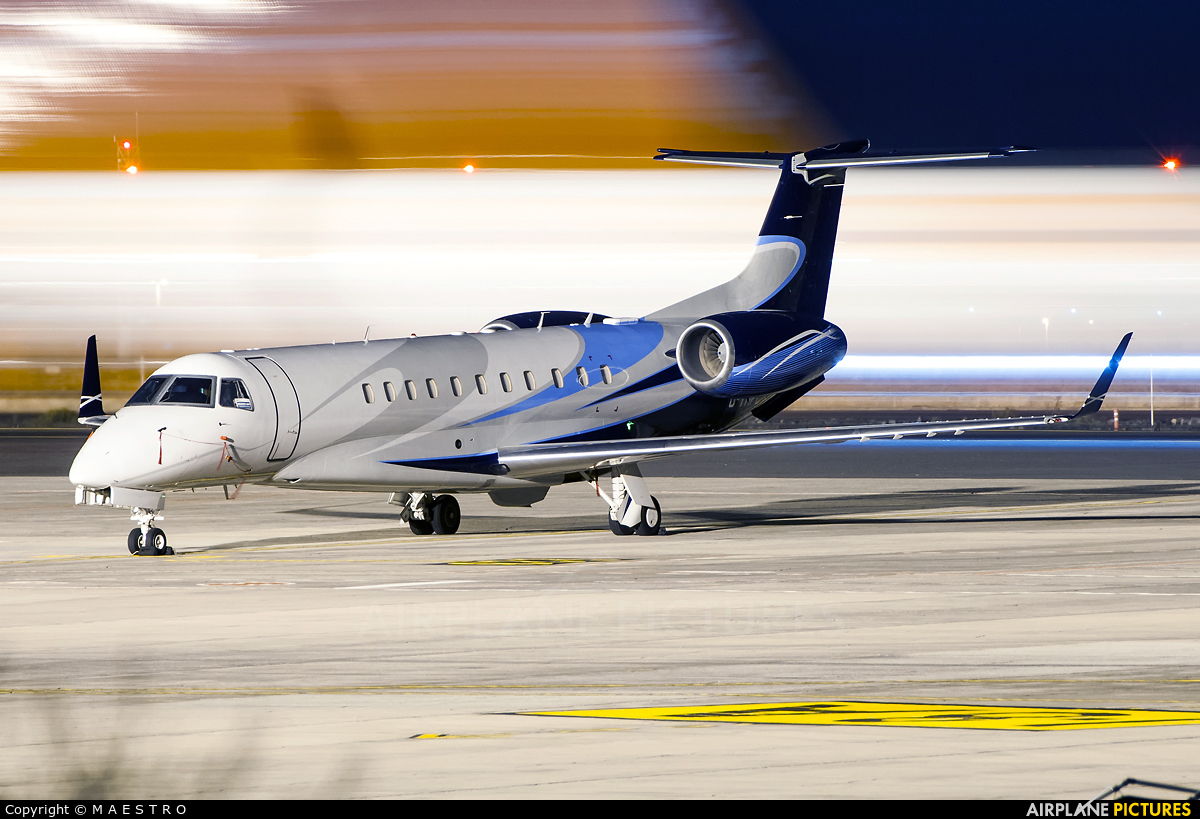 London Executive Aviation G-THFC aircraft at Tenerife Sur - Reina Sofia