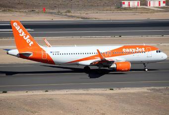 G-EZOV - easyJet Airbus A320