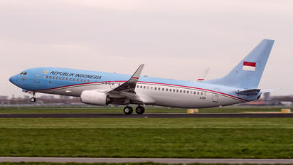 A-001 - Indonesia - Air Force Boeing 737-800 BBJ