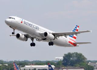 N549UW - American Airlines Airbus A321