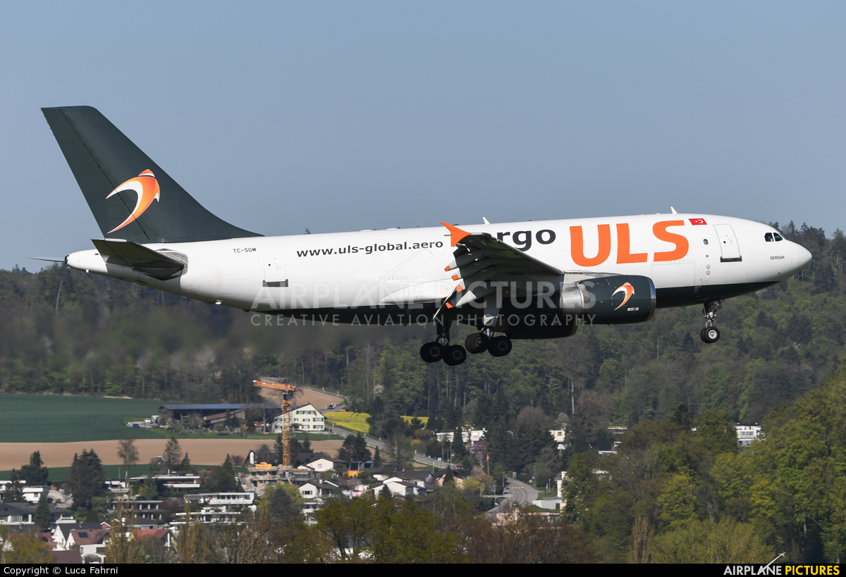 ULS Cargo TC-SGM aircraft at Zurich
