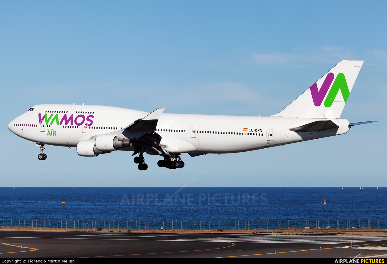 Wamos Air EC-KXN aircraft at Lanzarote - Arrecife