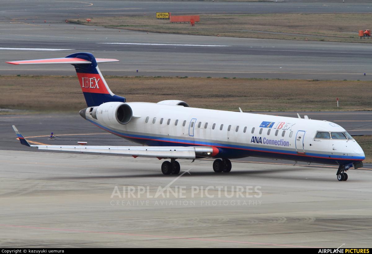 Ibex Airlines - ANA Connection JA06RJ aircraft at Fukuoka