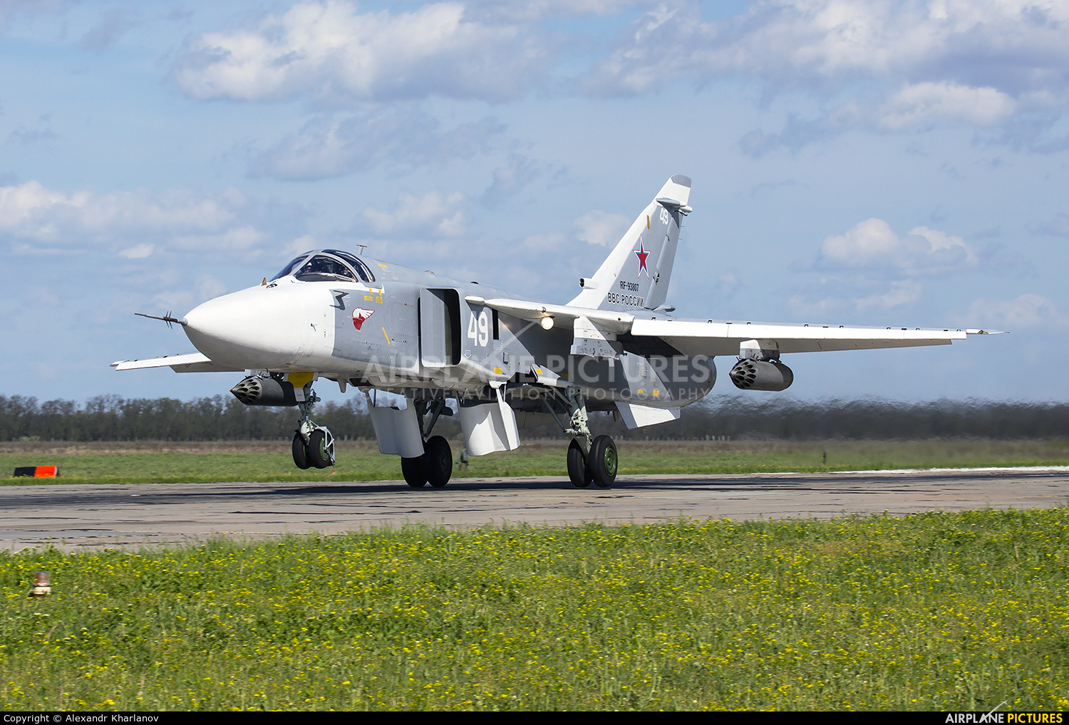 Russia - Air Force 49 aircraft at Undisclosed Location