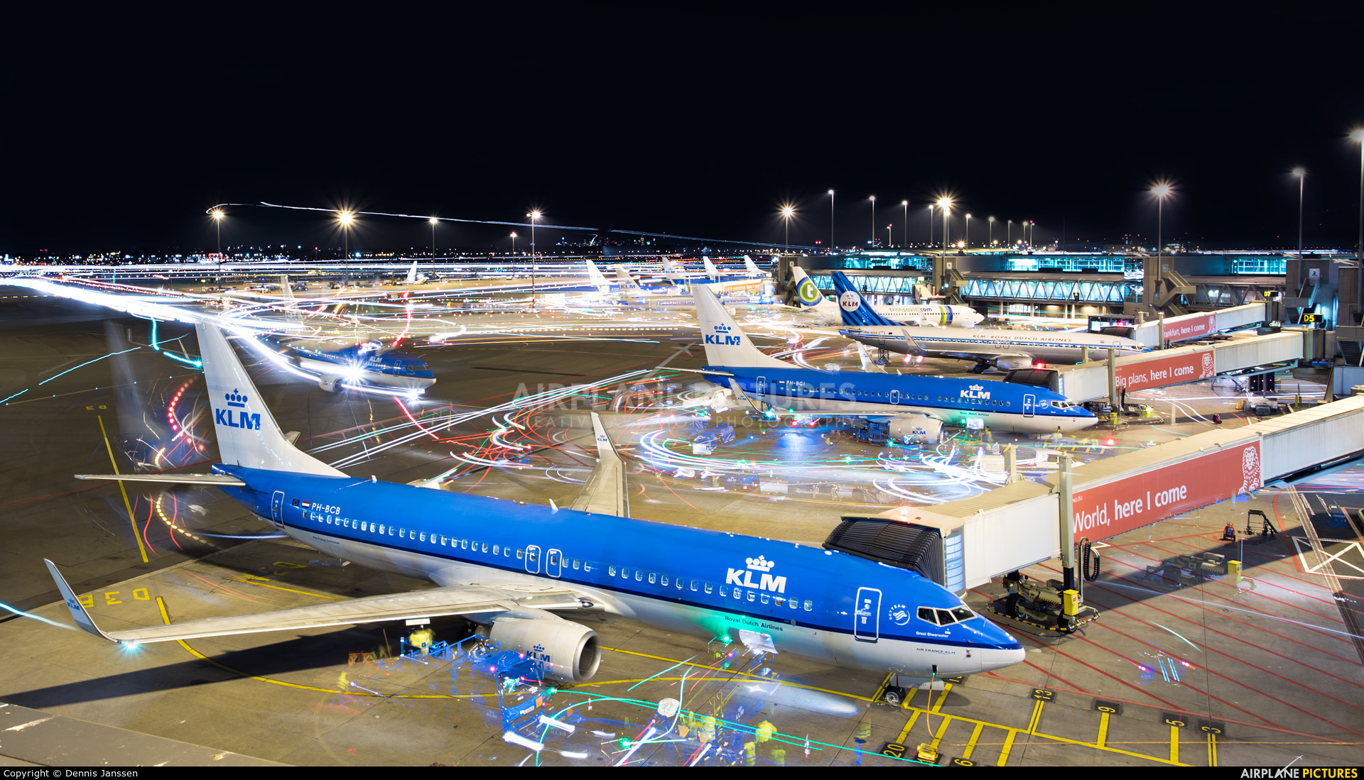 KLM PH-BCB aircraft at Amsterdam - Schiphol