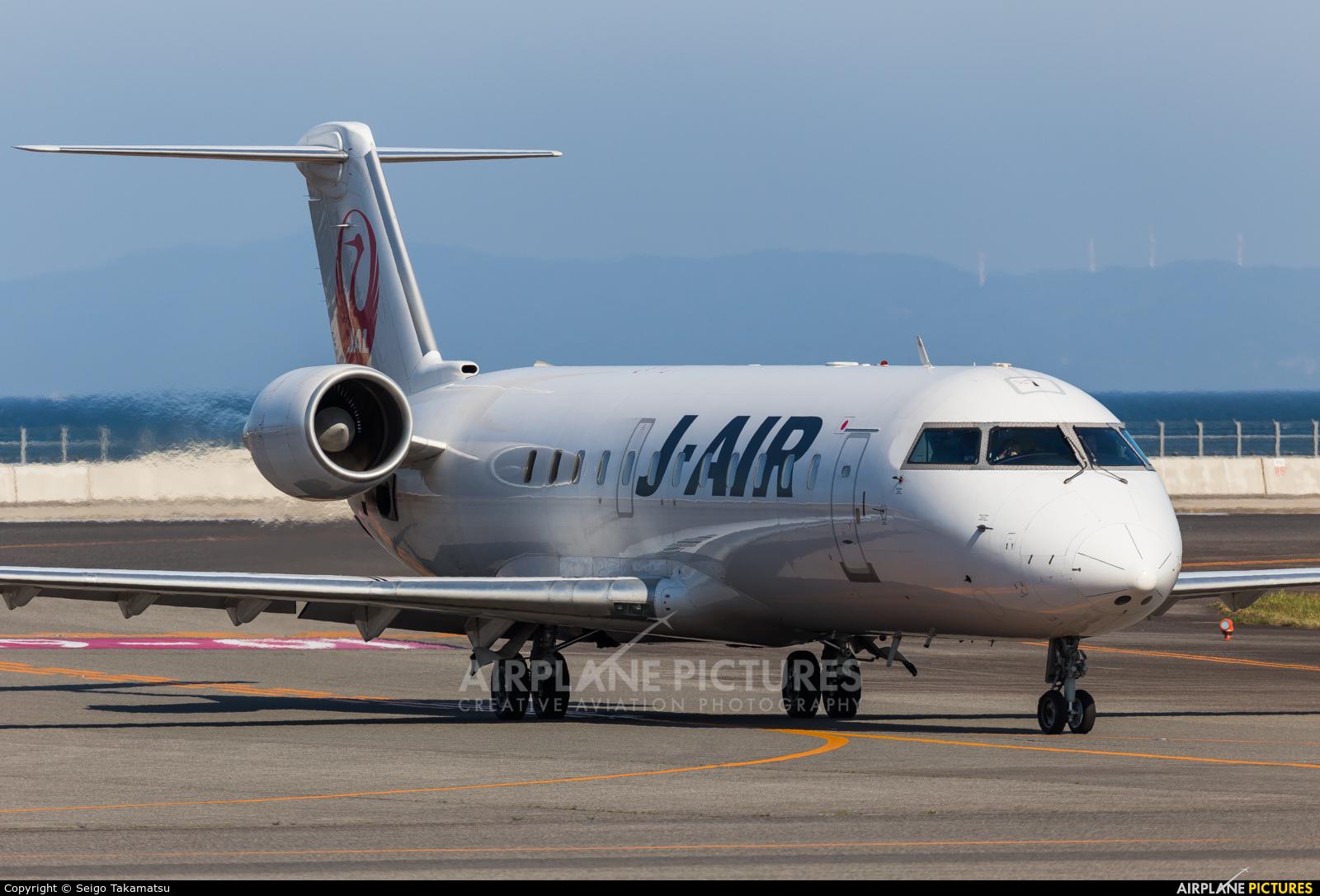 J-Air JA208J aircraft at Oita
