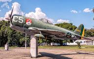 419660 - Brazil - Air Force Republic P-47D Thunderbolt aircraft
