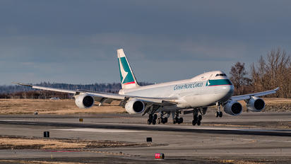 B-LJM - Cathay Pacific Cargo Boeing 747-8F