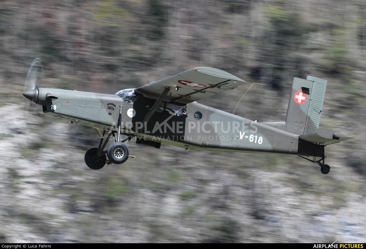 Switzerland - Air Force V-618 aircraft at Meiringen