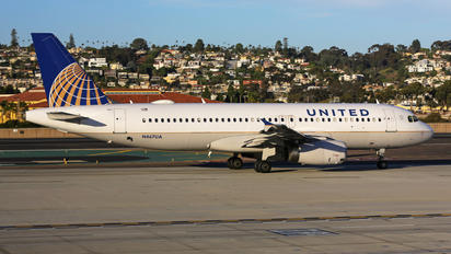 N467UA - United Airlines Airbus A320