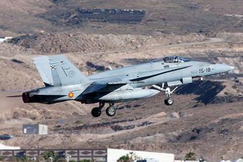 C.15-31 - Spain - Air Force McDonnell Douglas EF-18A Hornet