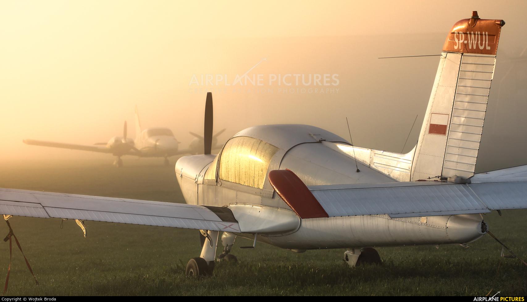 Private SP-WUL aircraft at Wrocław - Szymanów