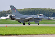 E-007 - Denmark - Air Force General Dynamics F-16A Fighting Falcon aircraft